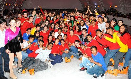Mas de 95 mil personas disfrutaron del fascinante mundo de hielo en Tuxpan