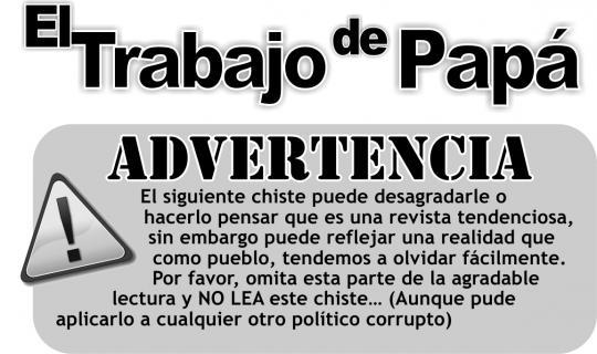 EL TRABAJO DE PAPÁ