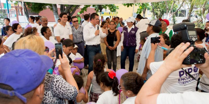 «El Pipo» de Encuentro Social critica mal uso de presupuesto educativo en Veracruz