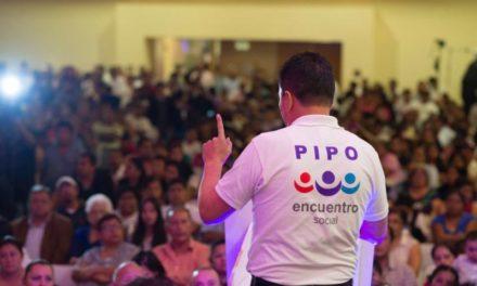 La campaña de Pipo Vázquez de Encuentro Social, la que más crece en Veracruz