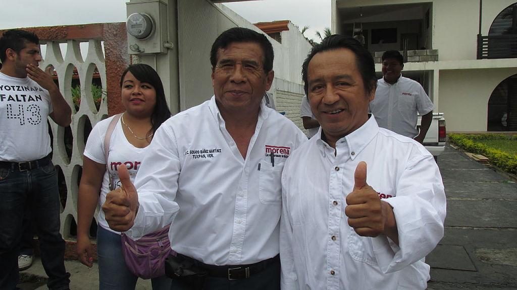 Candidatos se registran ante el OPLE Tuxpan