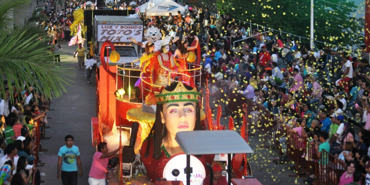 Afinan detalles  del Carnaval Tuxpan 2016