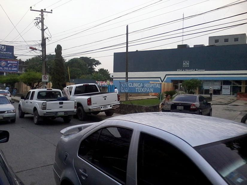 NULA ACCIÓN DE TRÁNSITO EN 5 DE MAYO