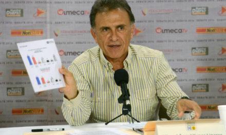 Presentó Miguel Ángel Yunes Linares propuestas concretas en Seguridad Pública, Desarrollo Social, Educación, Salud, Economía y Empleo