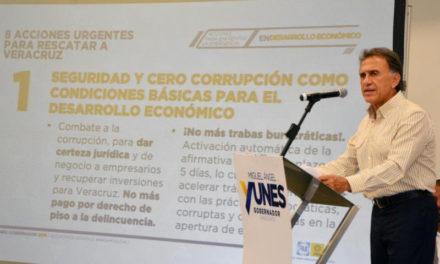 Reactivaré la inversión y el empleo en mi gobierno: Miguel Ángel Yunes Linares