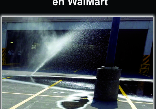 Desperdician AGUA en WalMart