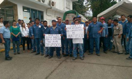 Trabajadores de CAEV se manifiestan
