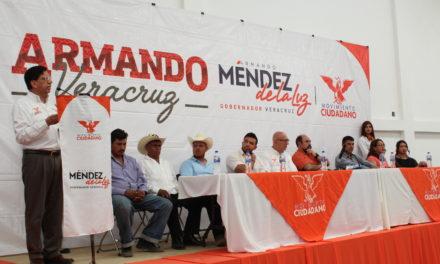 DEBEMOS SACAR DEL ABANDONO Y OLVIDO AL CAMPO VERACRUZANO: MÉNDEZ DE LA LUZ