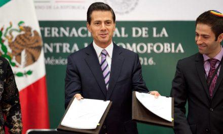 POSITIVA PARA COMUNIDAD GAY INICIATIVA DE PEÑA NIETO