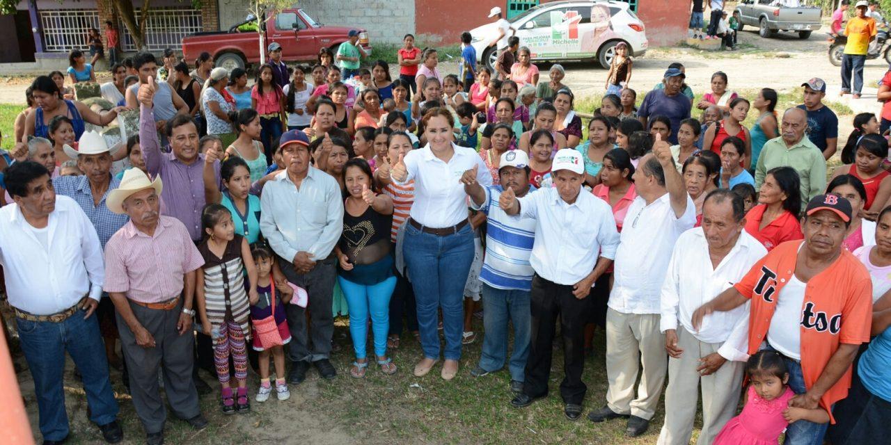 Con Michelle Gustin ganará el Tercer Distrito: Ciudadanos