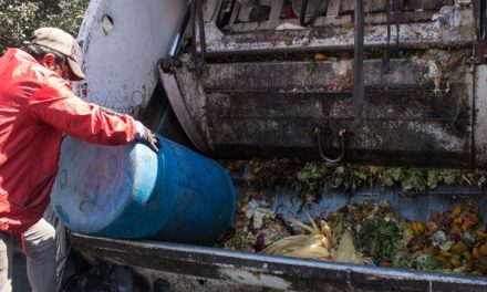 Instalan GPS en camiones de Basura