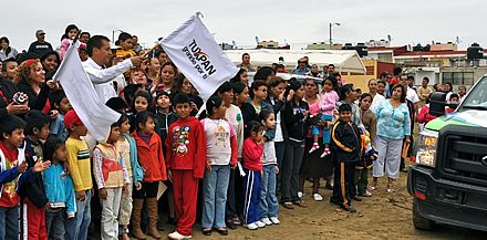 Inicia ASR pavimentación y atiende a vecinos de Campo Real en Tuxpan
