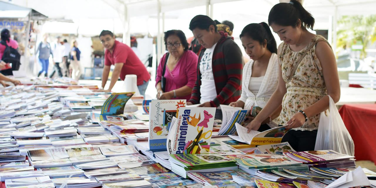 Preparan Segunda Feria del Libro en Tuxpan
