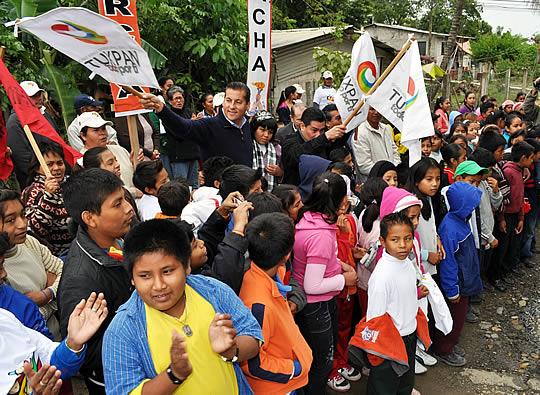 Antorcha Campesina reconoce la obra sin precedentes que se ha ejecutado en Tuxpan
