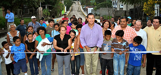 Un total de 218 obras de calidad realizadas en Tuxpan