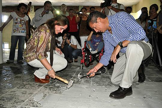 Inicia DIF y gobierno municipal la construcción de la Casa Hogar