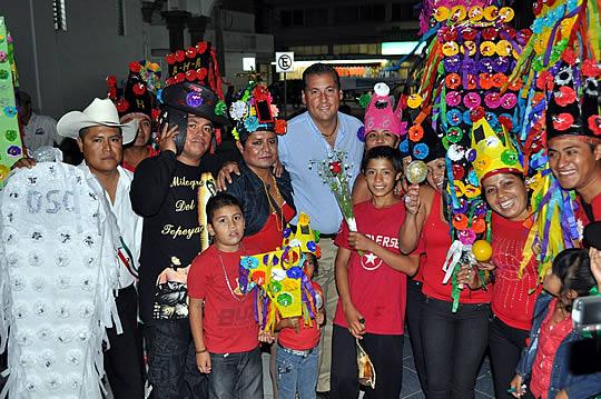 Gran participación y asistencia en el concurso de la «Malinche»