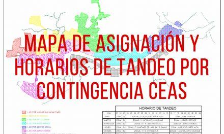 ROL DE TANDEOS TEMPORAL POR CONTINGENCIA CMAS