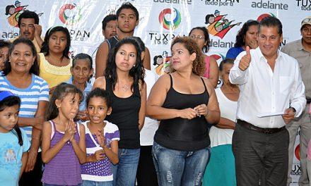 Inicia Alberto Silva Ramos maratón de obras en Tuxpan