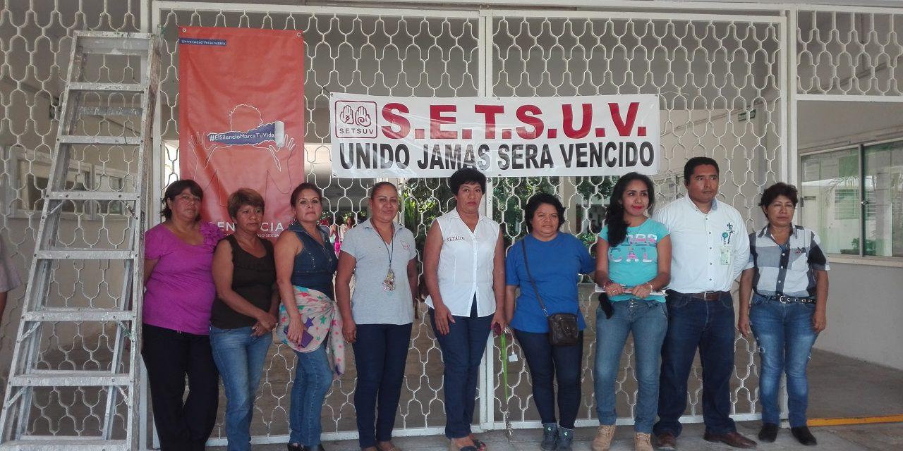 Protestan Integrantes del SETSUV