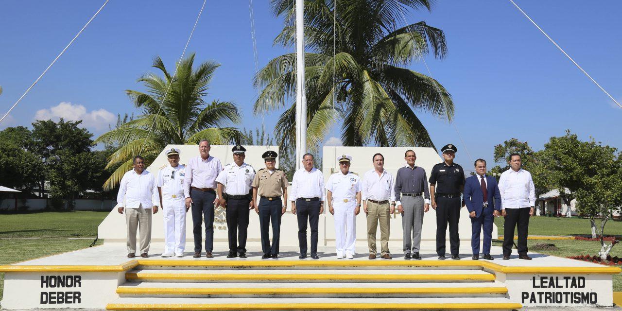 Sesiona Mando Especial Veracruz en el Sector Naval de Tuxpan