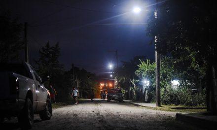 Inauguran Luminarias en Las Granjas