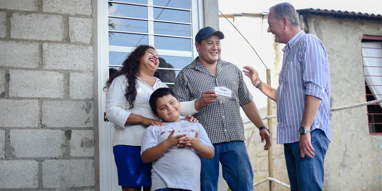 Entregan Cuartos Dormitorios en Ojite Rancho Nuevo