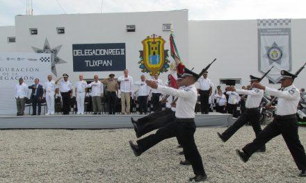 SSP  Tuxpan tendrá bajo su jurisdicción 10 municipios de la zona norte