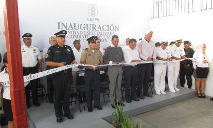 Inauguran en Tuxpan Unidad Especializada en Combate al Secuestro