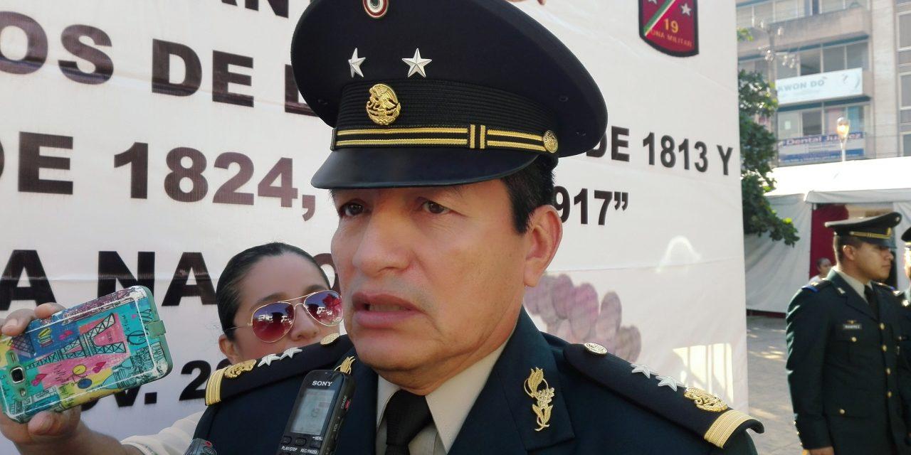 Realizarán cambios de mando en la 19° zona militar