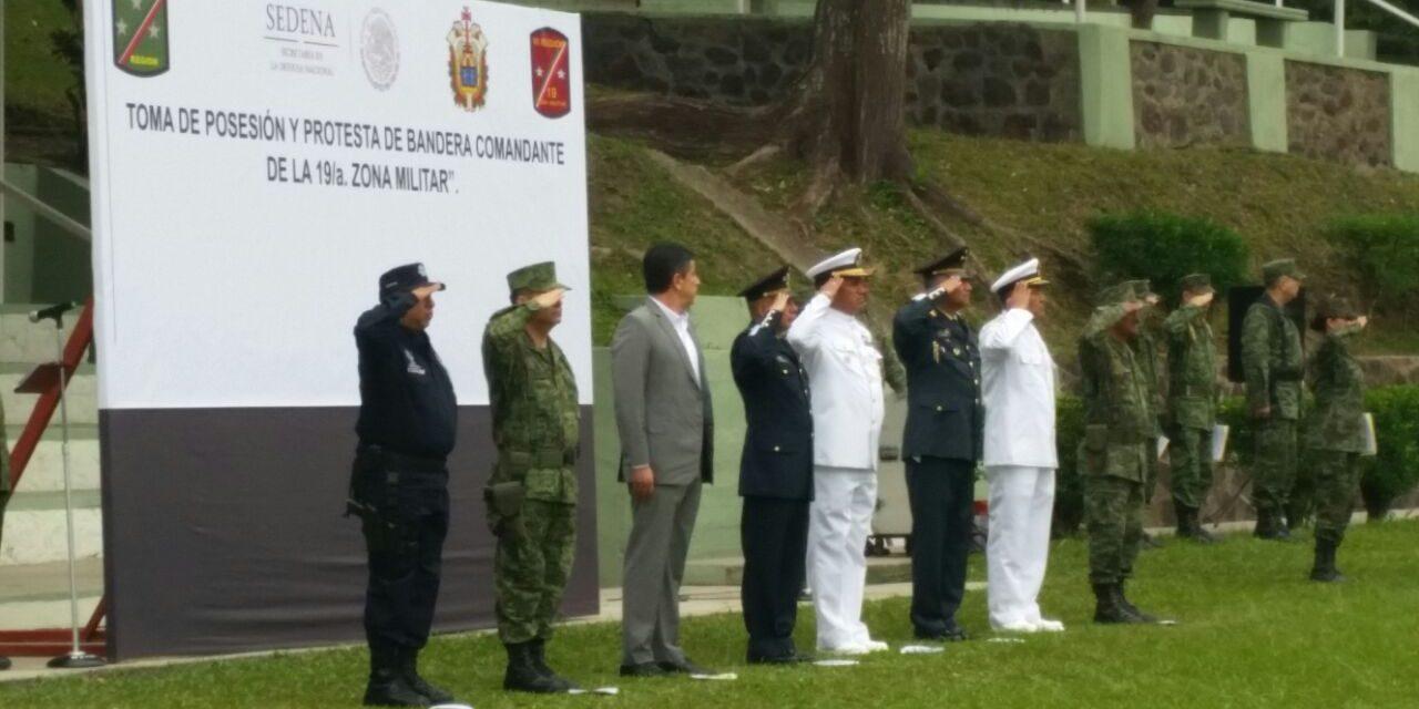 Designan nuevo Comandante de la 19/a.  zona militar