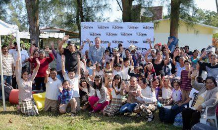 Raúl Ruiz  Entregó Apoyos Invernales en Comunidades