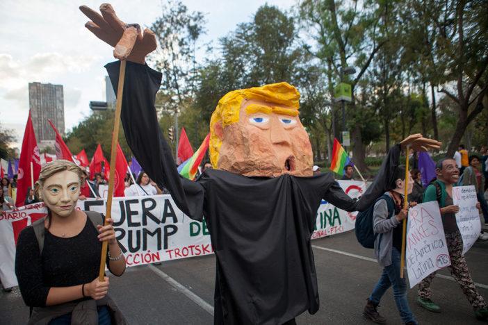 México unido contra Trump