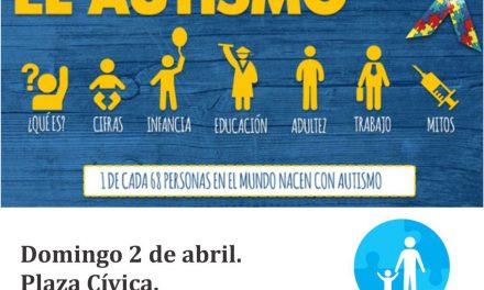 Realizarán evento de Concienciación  sobre el Autismo