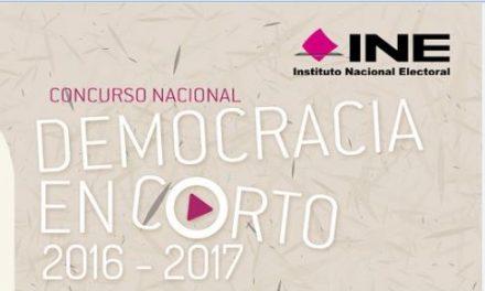 Convoca INE a jóvenes participar en concurso de cortometraje