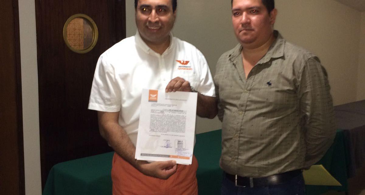Se registra candidato del Partido Movimiento Ciudadano