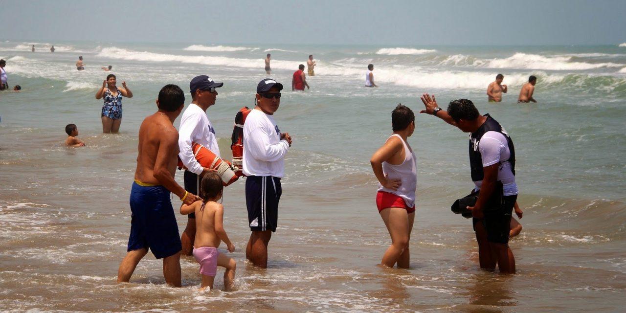 Playas de Tuxpan de las mas vigiladas