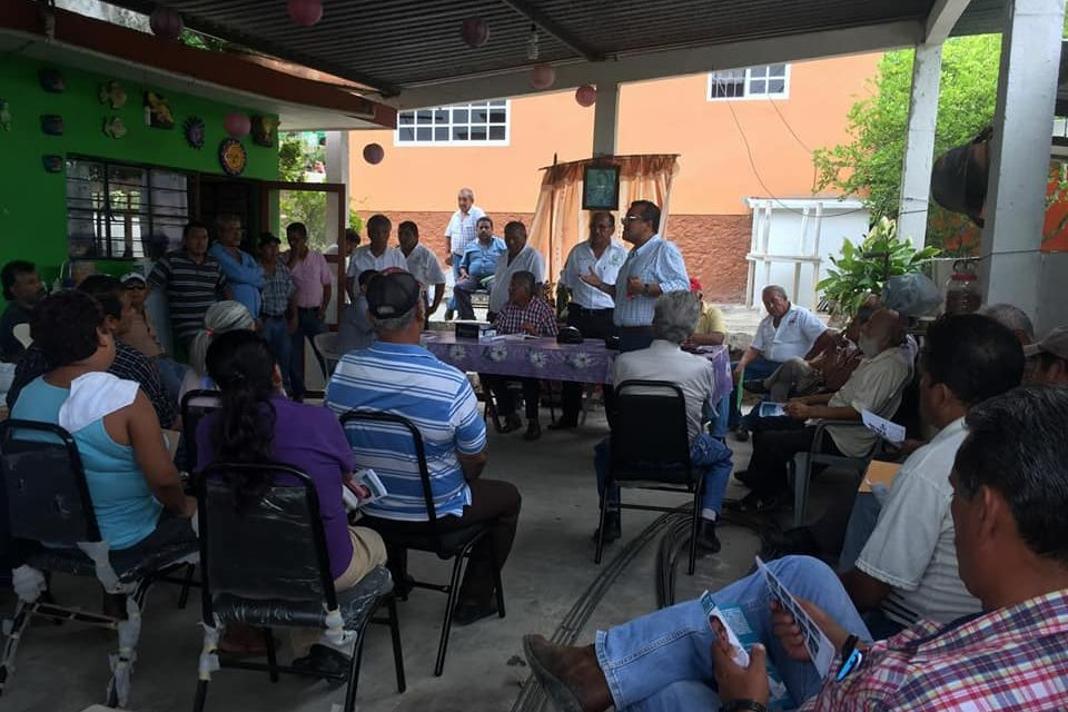 ESTEBAN SALAS, RESPALDA CON SEGURIDAD A LOS TAXISTAS DE LA CROM