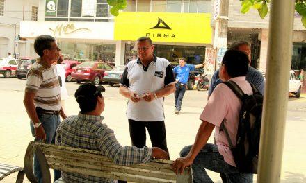 Impulso a la obra pública para apoyar la economía de Tuxpan, propone Everardo Gustin