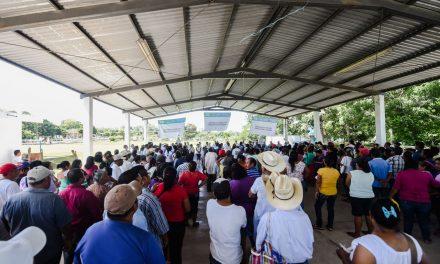Apoyos del Gobierno del Estado en Tuxpan Veracruz