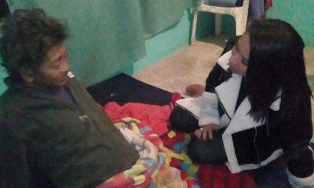 Alcaldesa Citlali Medellín Careaga habilita y visita albergue