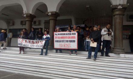 Nuevamente se manifestaron integrantes del SETSUV