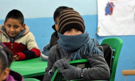 Emiten criterios para suspender clases por Frío