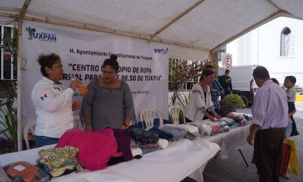CERESO realiza acopio de ropa invernal