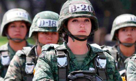 SEDENA solicita mujeres para laborar como soldados
