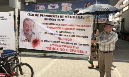 Exige esclarecimiento de asesinato de Periodista  Leobardo Vázquez