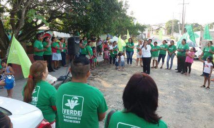 Pugnaré por que haya servicios básicos en colonias y comunidades: Maryanela Monroy