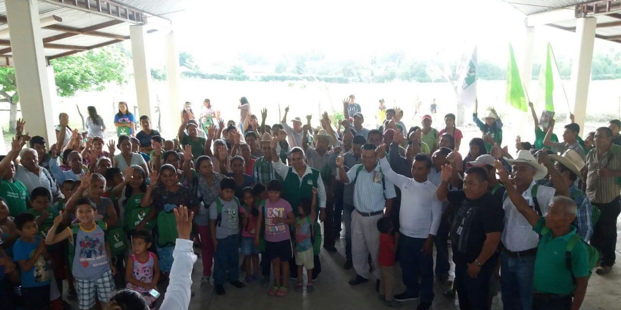 Comunidades contarán con casas de salud: Maryanela Monroy