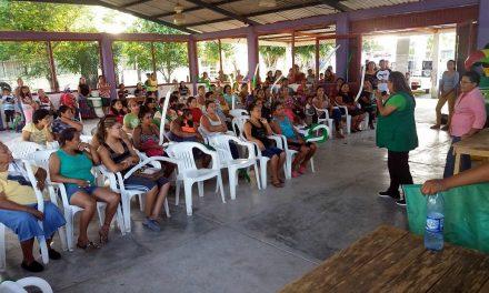 Gestionaré recursos para mejorar caminos en las comunidades: Maryanela Monroy