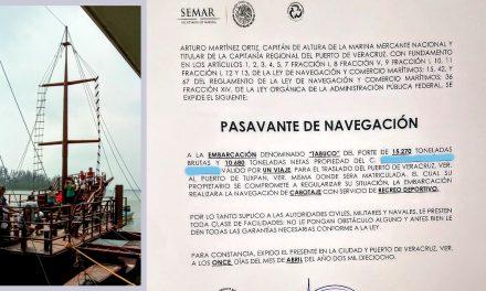 Secuestran en Casitas la embarcación el «Tabuco»